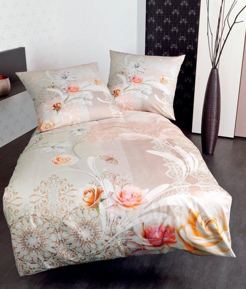bettw sche nicolo janine mit blumen kaufen otto. Black Bedroom Furniture Sets. Home Design Ideas