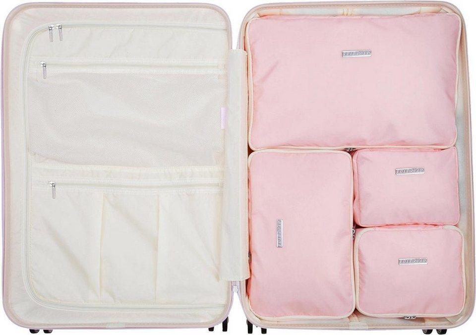 suitsuit koffer organizer set 4 tlg packing cube set. Black Bedroom Furniture Sets. Home Design Ideas