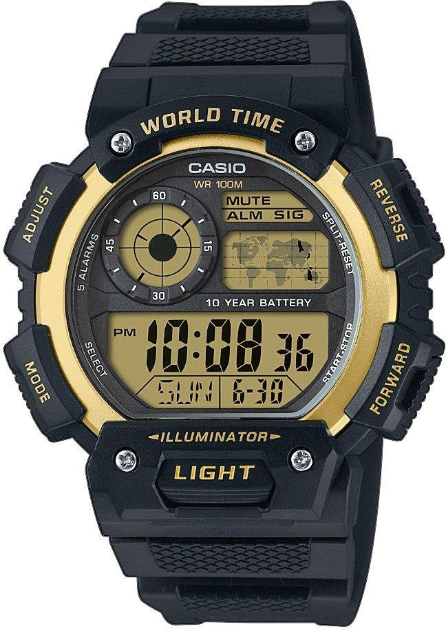 Casio Collection Chronograph »AE-1400WH-9AVEF«