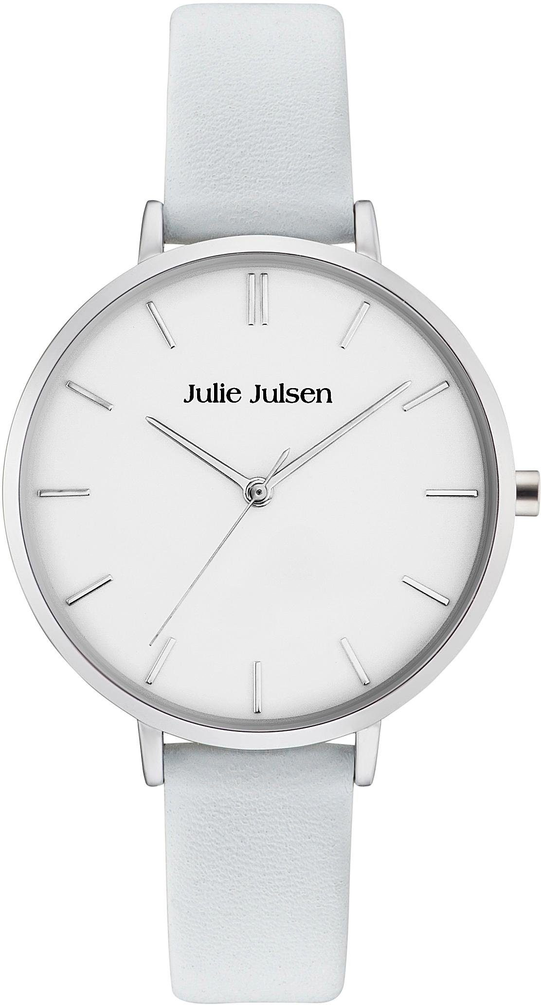 Julie Julsen Quarzuhr »Pure Silver Light Blue, JJW10SL-4«