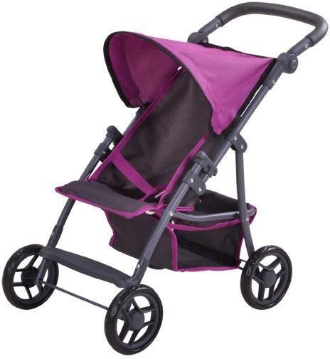 knorr toys Puppenbuggy, »Liba - tec purple«
