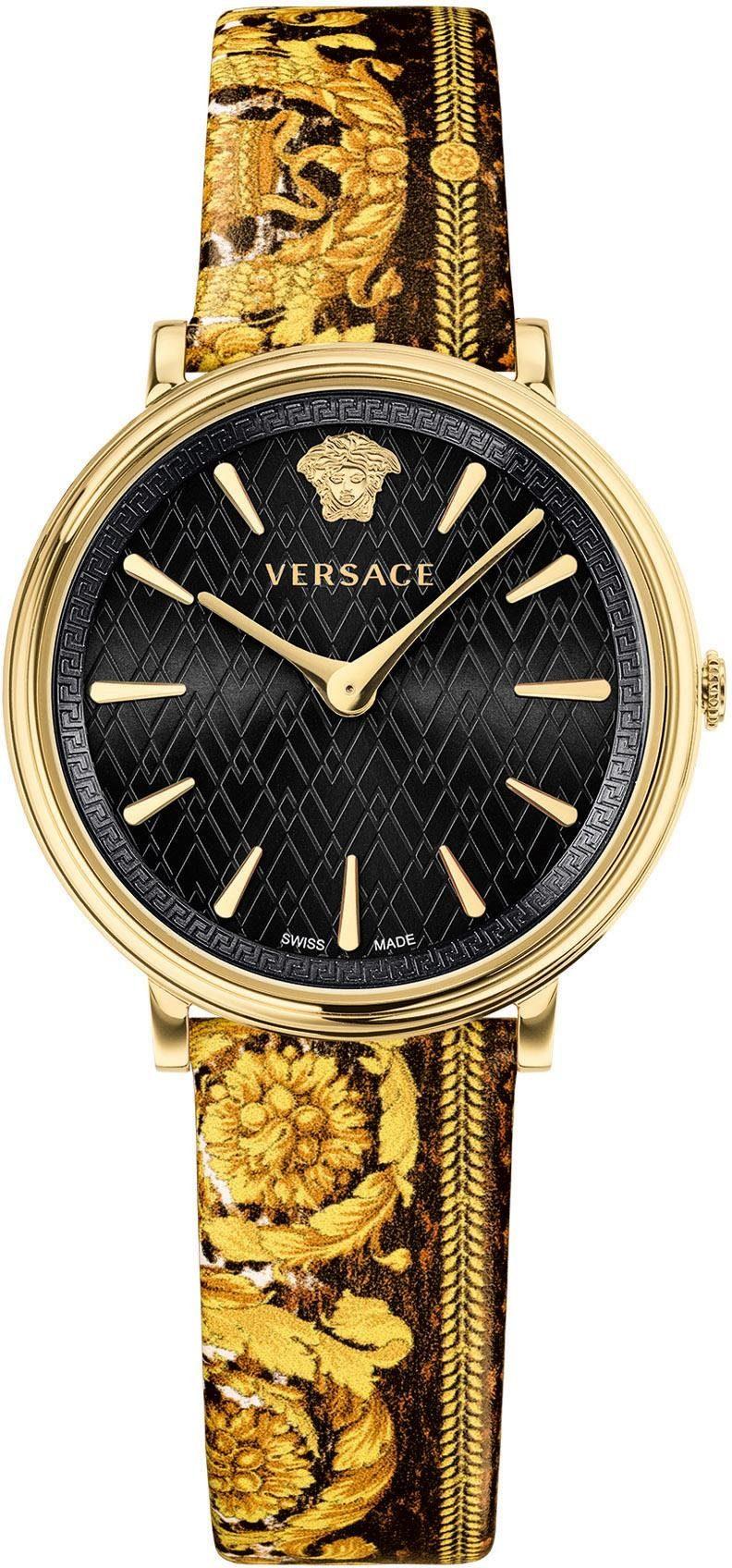 Versace Quarzuhr »V-Circle Tribute, VBP130017«
