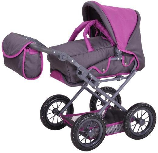 knorr toys Puppenwagen , »Ruby - tec purple«