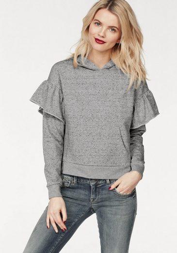 LTB Sweatshirt »FEJABO« mit Rüschen am Ärmel
