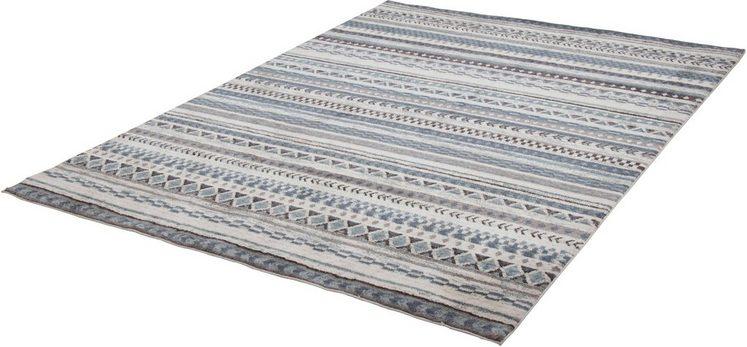 Teppich »Francesco 24718«, Gino Falcone, rechteckig, Höhe 14 mm, Besonders weich durch Microfaser