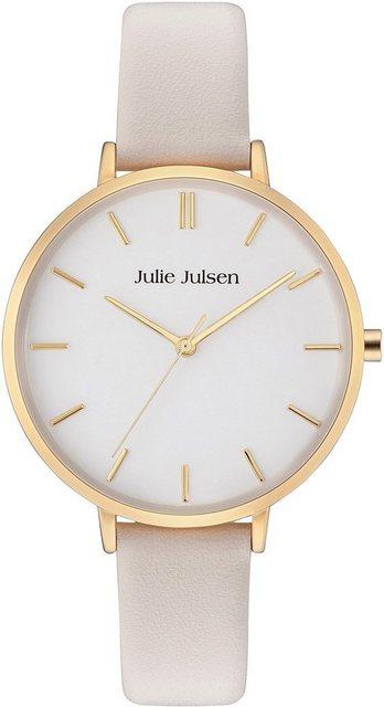 Julie Julsen Quarzuhr »Pure Gold Nude, JJW10YGL-3« | Uhren > Quarzuhren | Julie Julsen