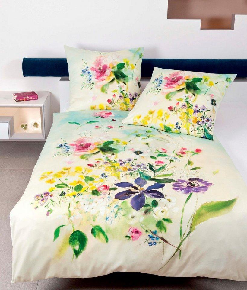 bettw sche luca janine mit blumen kaufen otto. Black Bedroom Furniture Sets. Home Design Ideas