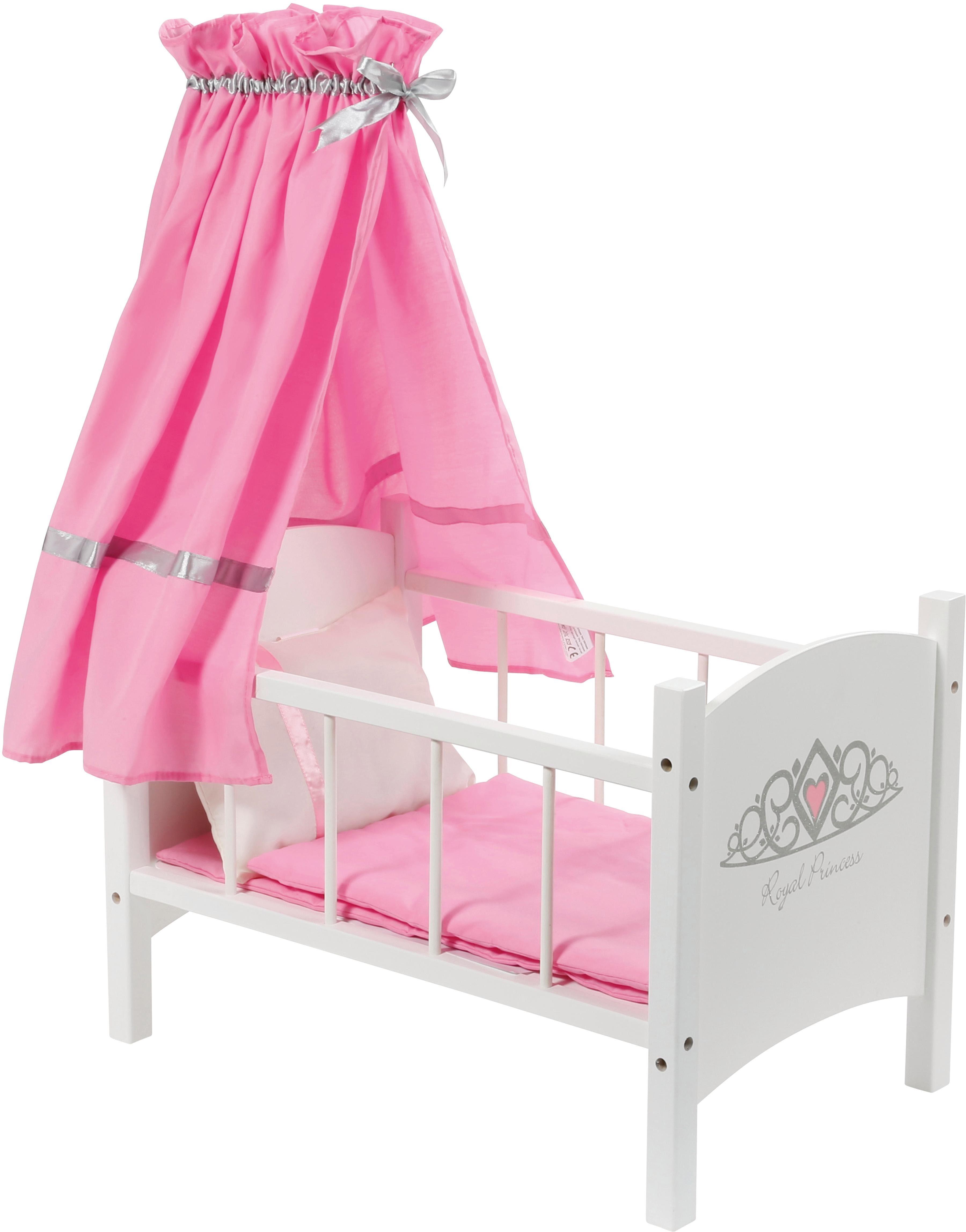 knorr toys Puppenhimmelbett, »royale princess«