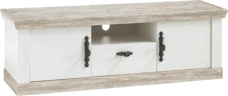 Home affaire TV-Board »Florenz«, im romantischen Landhaus-Look, Fernsehtisch Breite 156 cm