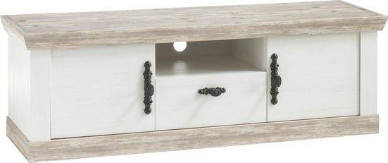 Home affaire TV-Board »Florenz«, im romantischen Landhaus-Look, Breite 156 cm
