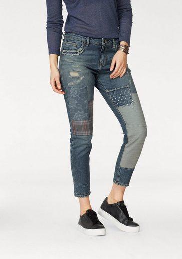 LTB Boyfriend-Jeans »WICCA« im Patchwork-Design
