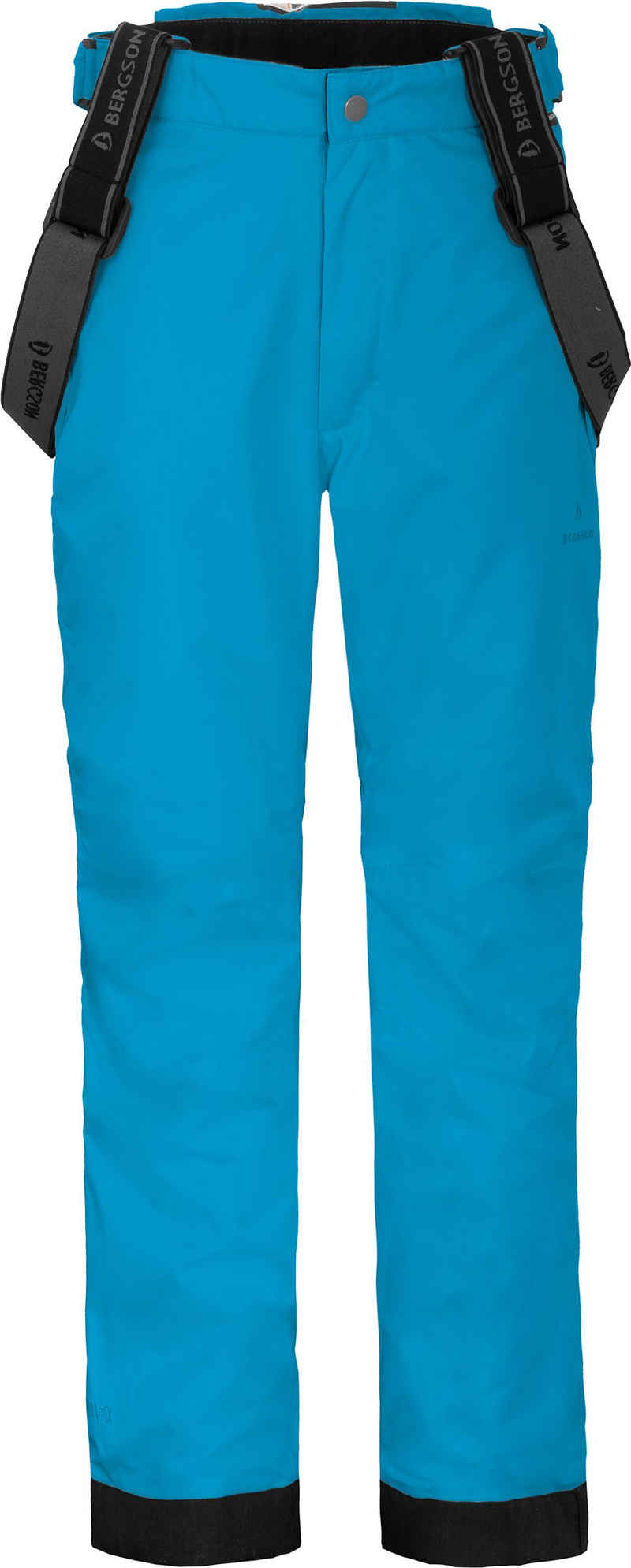 Bergson Skihose »LUCA« Kinder Skihose, wattiert, 12000 mm Wassersäule, Normalgrößen, Ozean blau