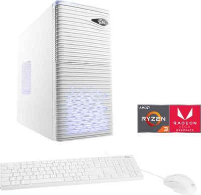 CSL Sprint L8860 Windows 10 Home Gaming-PC (AMD Ryzen 3 Ryzen™ 3 3200G, 8 GB RAM, 240 GB SSD)