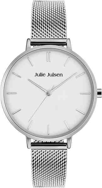 Julie Julsen Quarzuhr »Pure Silver Mesh, JJW10SME«