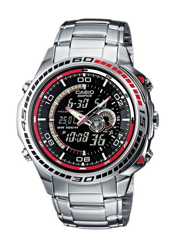 Casio Edifice Chronograph »EFA-121D-1AVEF« in silberfarben