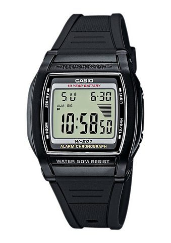 Casio Collection Chronograph »W-201-1AVEF«