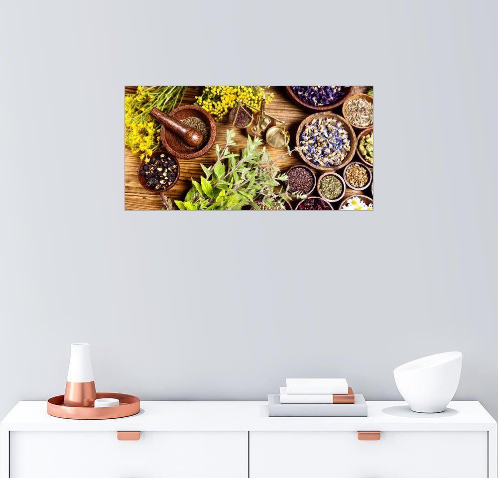 Posterlounge Wandbild »Naturheilkräuter«