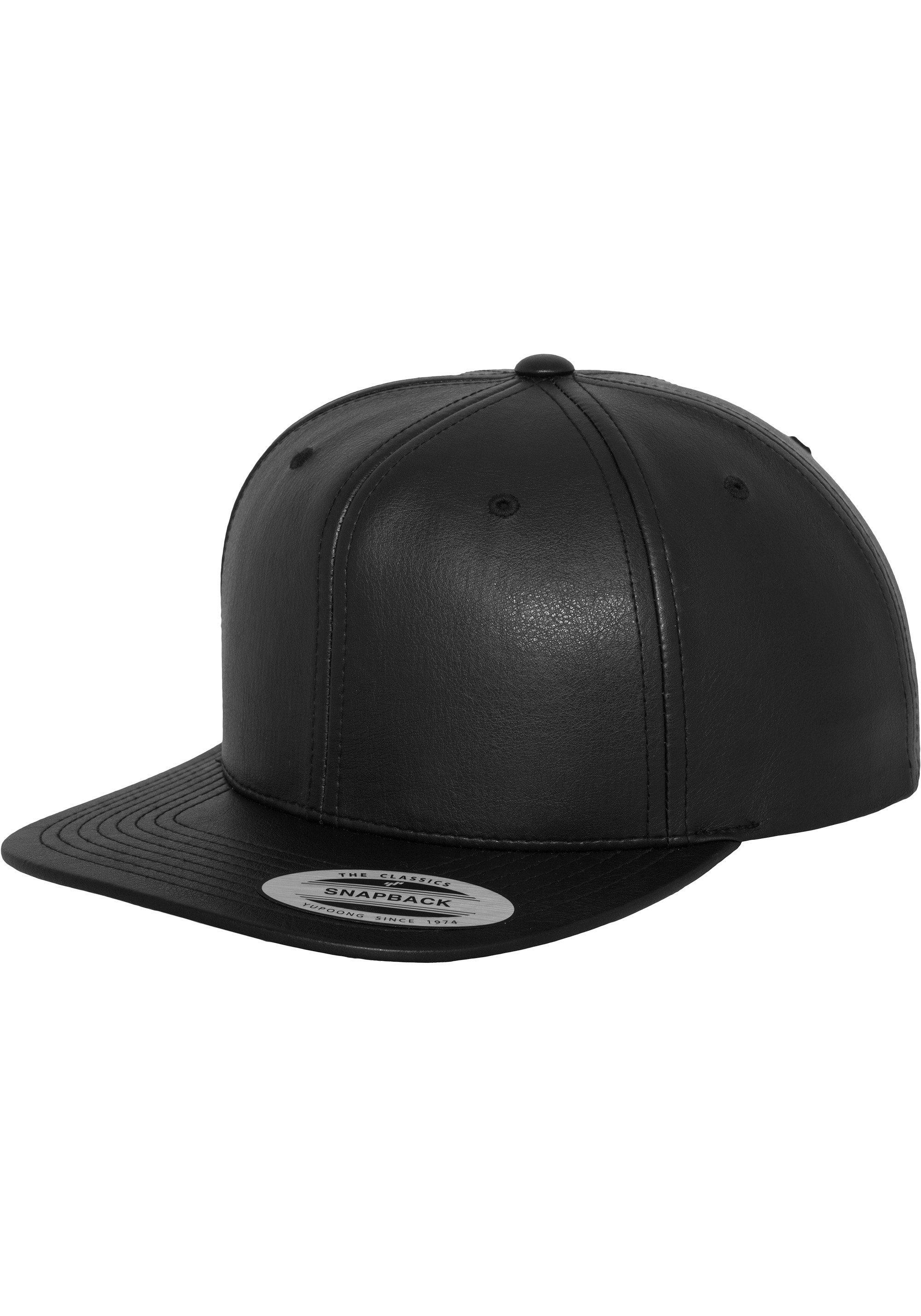 Flexfit Snapback Cap »Full Leather Imitation Snapback«