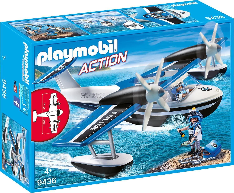 Playmobil® Polizei-Wasserflugzeug (9436), »Action«