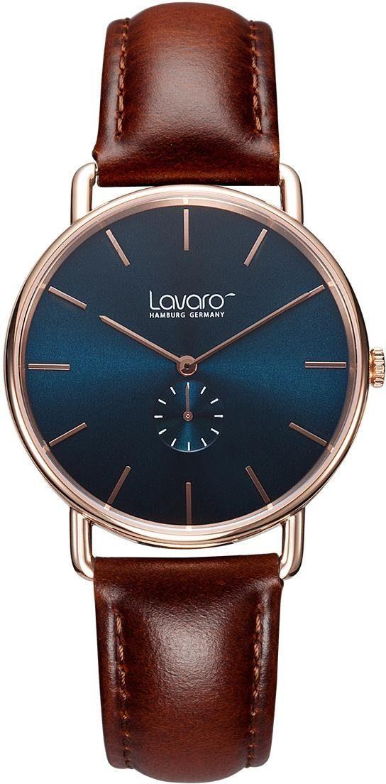 LAVARO Quarzuhr »LA20001« mit kleiner Sekunde