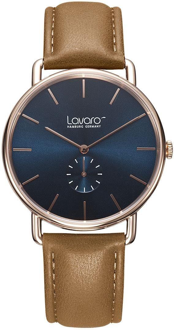 LAVARO Quarzuhr »LA60003« mit kleiner Sekunde