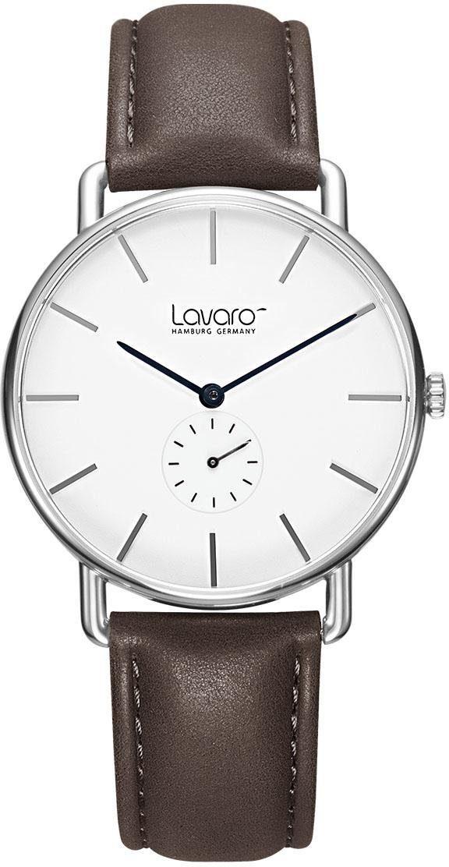 LAVARO Quarzuhr »LA60005« mit kleiner Sekunde