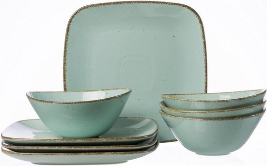 Ritzenhoff & Breker Tafelservice »CASA« (8-tlg), Porzellan, Vintage Look