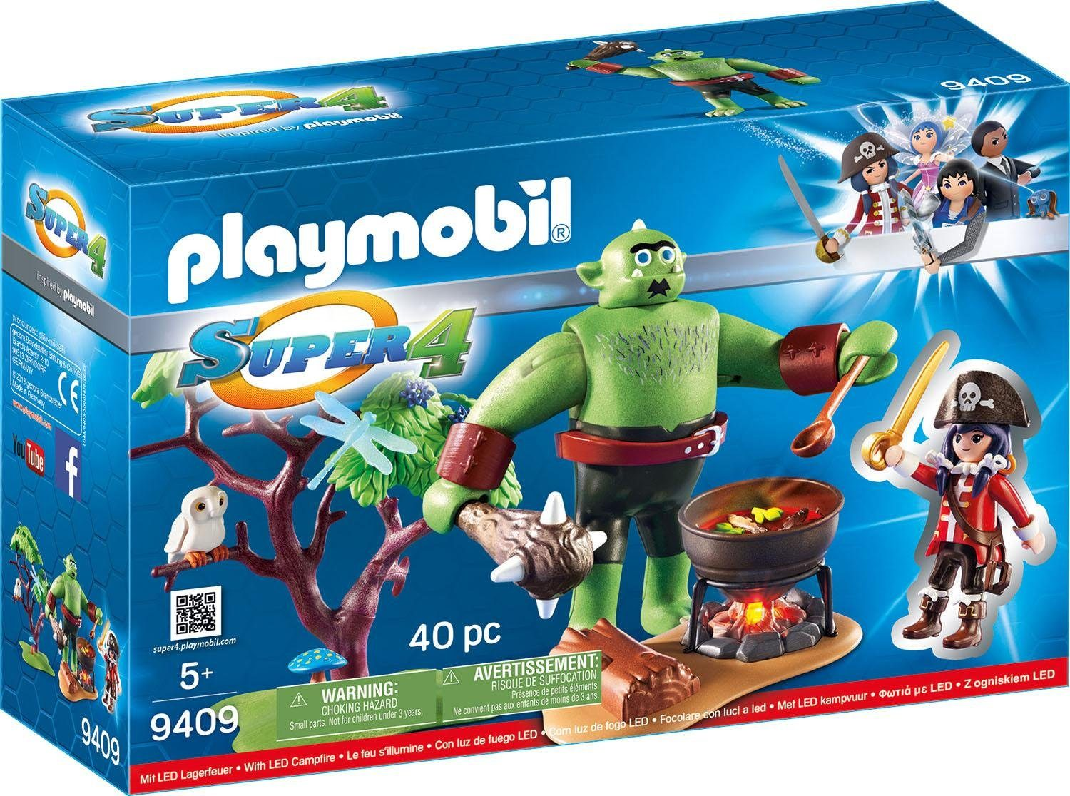 Playmobil® Riesen-Oger mit Ruby (9409), »Super 4®«