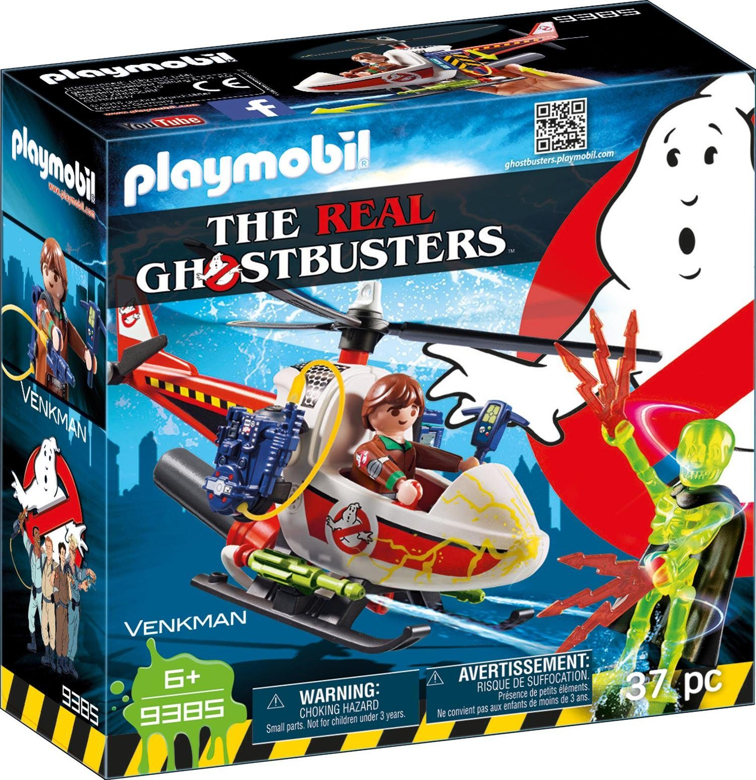 Playmobil® Venkman mit Helikopter (9385), »Ghostbusters«