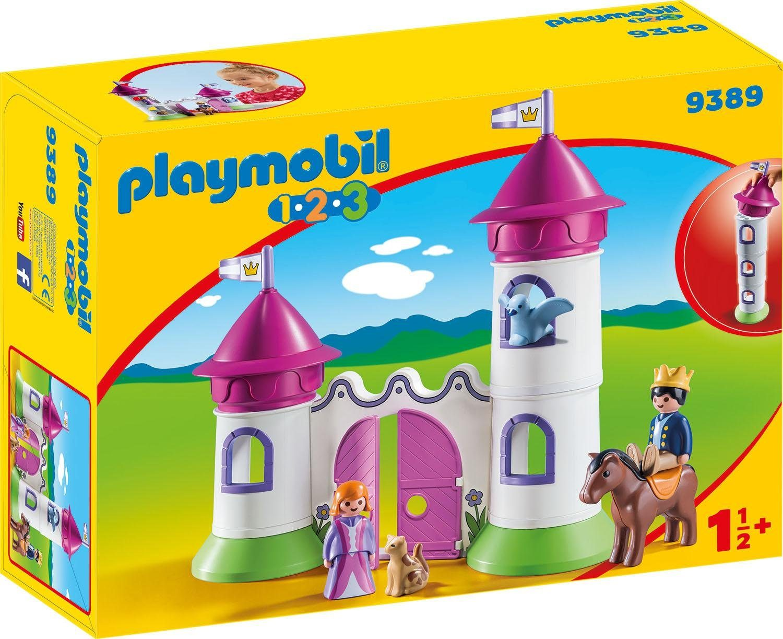 Playmobil® Schlösschen mit Stapelturm (9389), »Playmobil 1-2-3«
