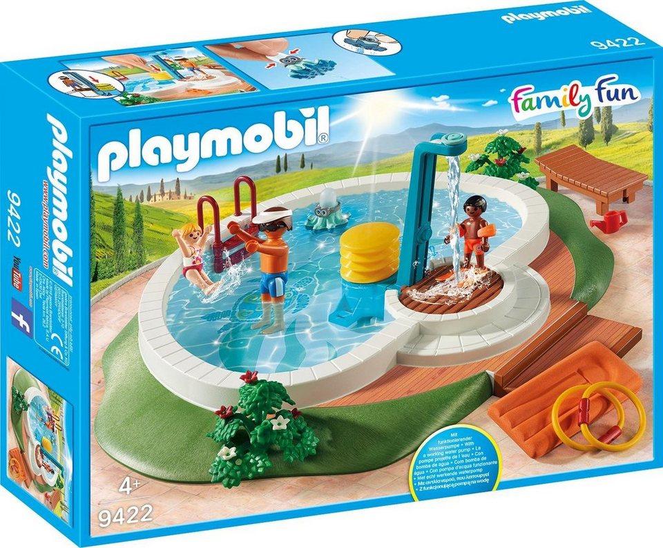 Playmobil swimmingpool 9422 family fun otto - Otto swimmingpool ...