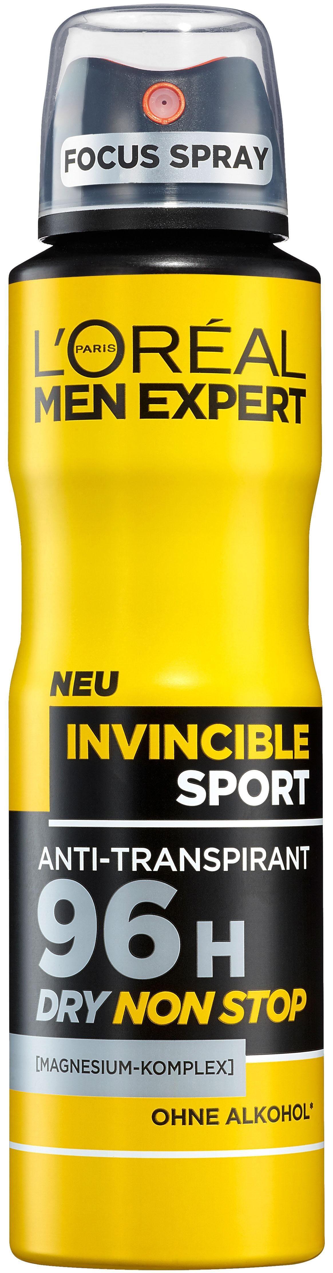 L'Oréal Paris Men Expert, »Invincible Sport«, Deo-Spray