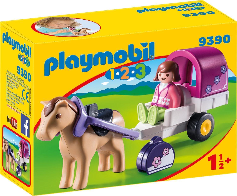 Playmobil® Pferdekutsche (9390), »Playmobil 1-2-3«