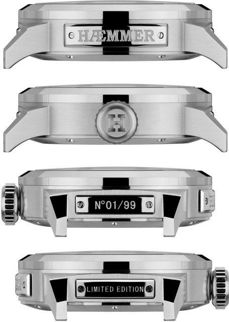 HAEMMER GERMANY Automatikuhr »PR-300« limitiert auf 99 Stück | Uhren > Automatikuhren | Braun | HAEMMER GERMANY