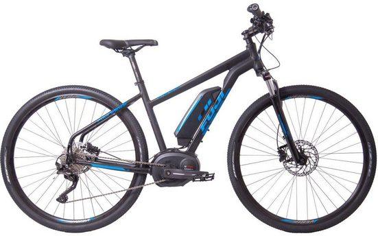 FUJI Bikes E-Bike »E-TRAVERSE 1.1 ST«, 10 Gang Shimano Deore Schaltwerk, Kettenschaltung, Mittelmotor 250 W