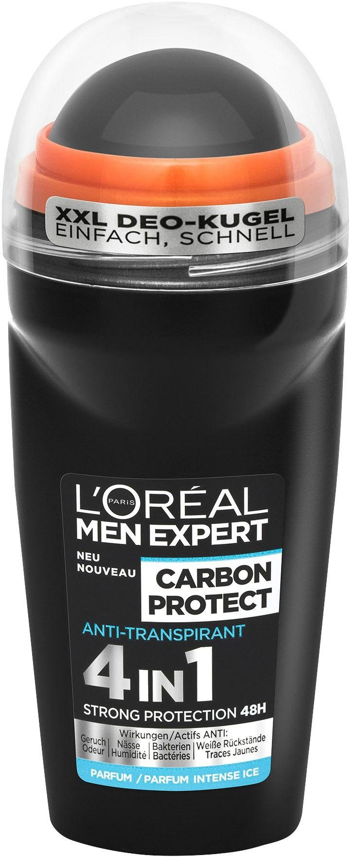 L'oréal Paris Men Expert, »Carbon Protect«, Deo Roll-On