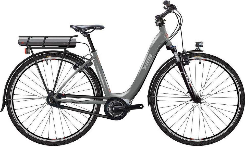 breezer bikes e bike greenway ig ls cb di2 2017 8 gang. Black Bedroom Furniture Sets. Home Design Ideas