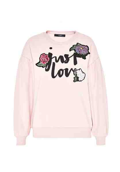 HALLHUBER Statement-Sweatshirt mit Patches