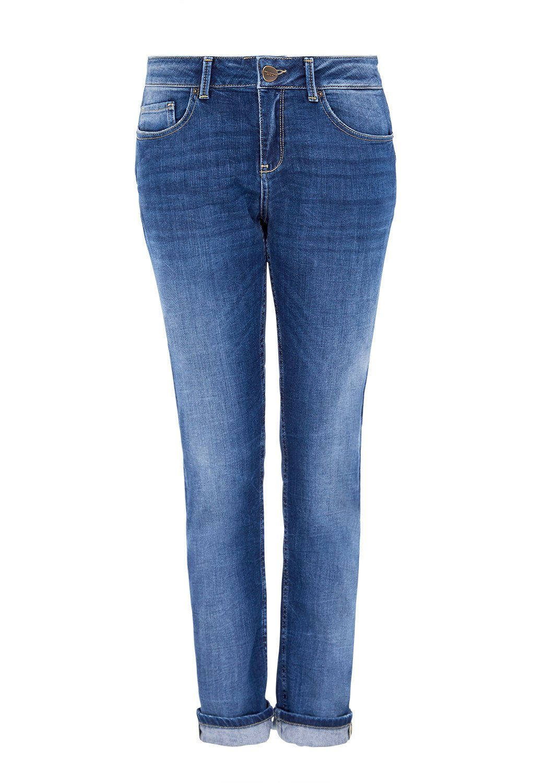 Boyfriend-Jeans in Knitteroptik Vivance siClgT