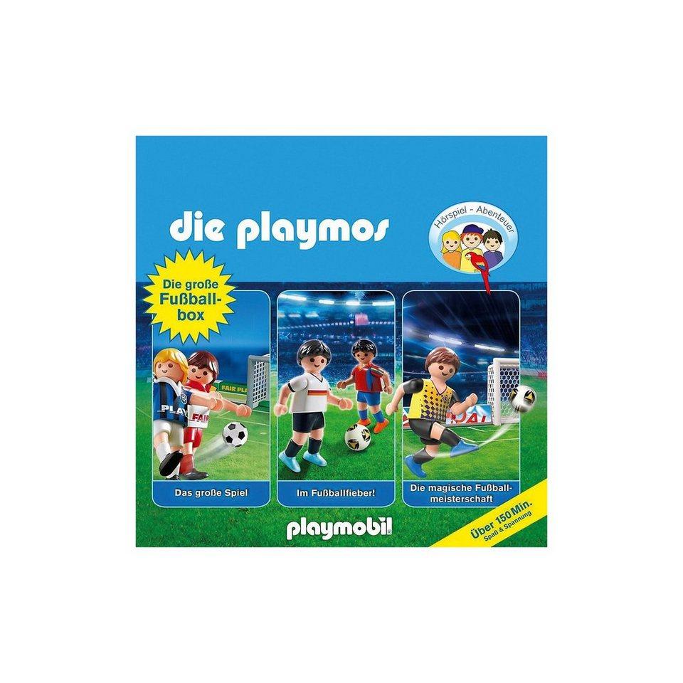 Edel CD Die Playmos - Die Große Fußball-Box kaufen