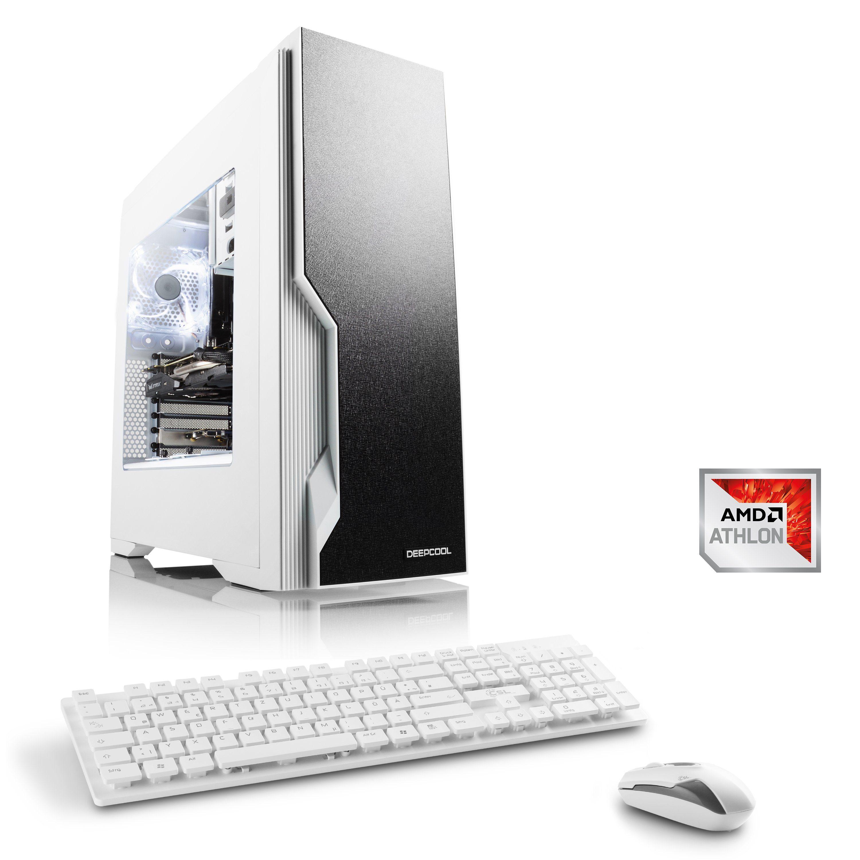 CSL Gaming PC | AMD Athlon X4 950 | GTX 1050 Ti | 8 GB RAM | SSD »Levitas T4480 Windows 10«
