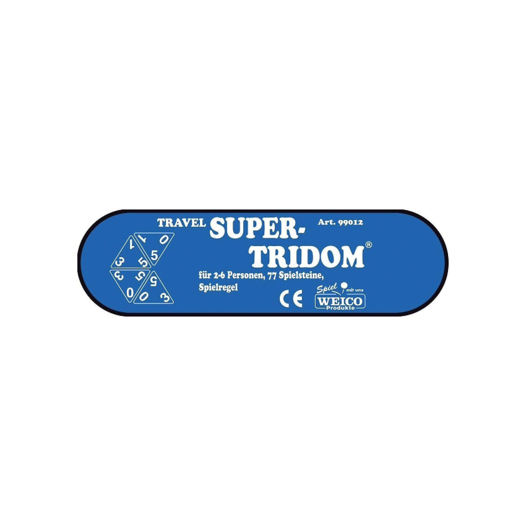 Weico Reisespiel Super-Tridom, 77 Steine