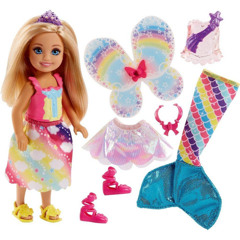 Mattel® Barbie Dreamtopia 3-in-1 Fantasie Chelsea (blond) online kaufen
