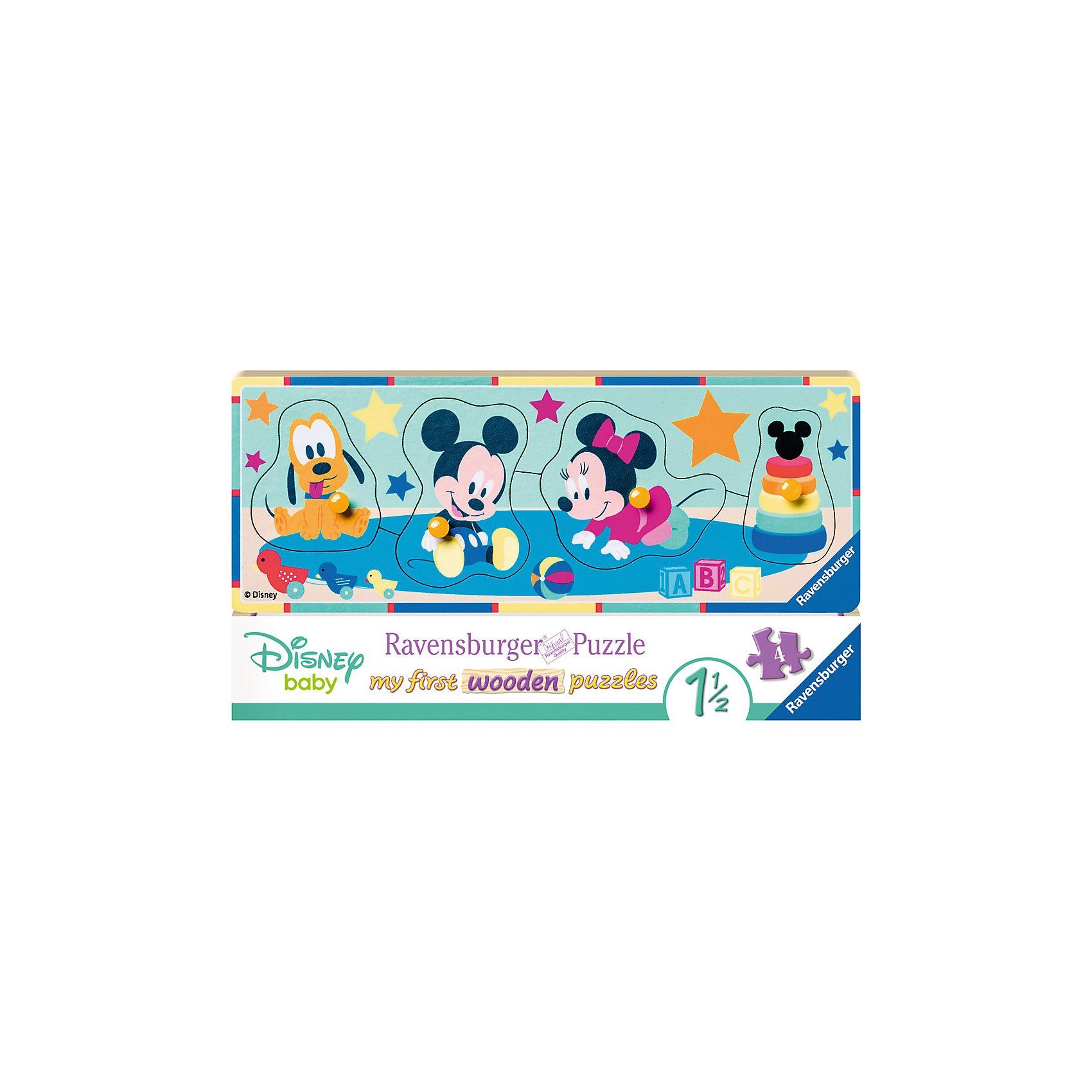 Ravensburger Holzsteckpuzzle 5 Teile Disney Babys