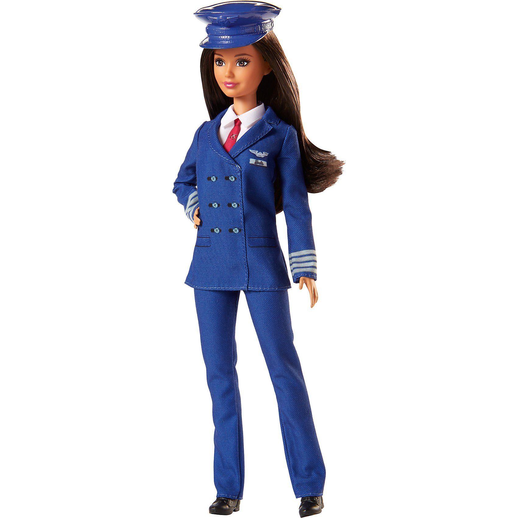 Mattel Barbie Pilotin Puppe