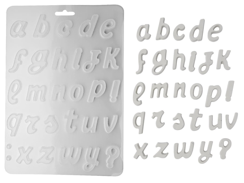 "Stamperia Gießform ""Alphabet"""