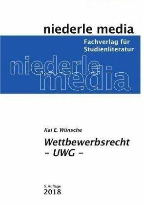 Broschiertes Buch »Wettbewerbsrecht - UWG«