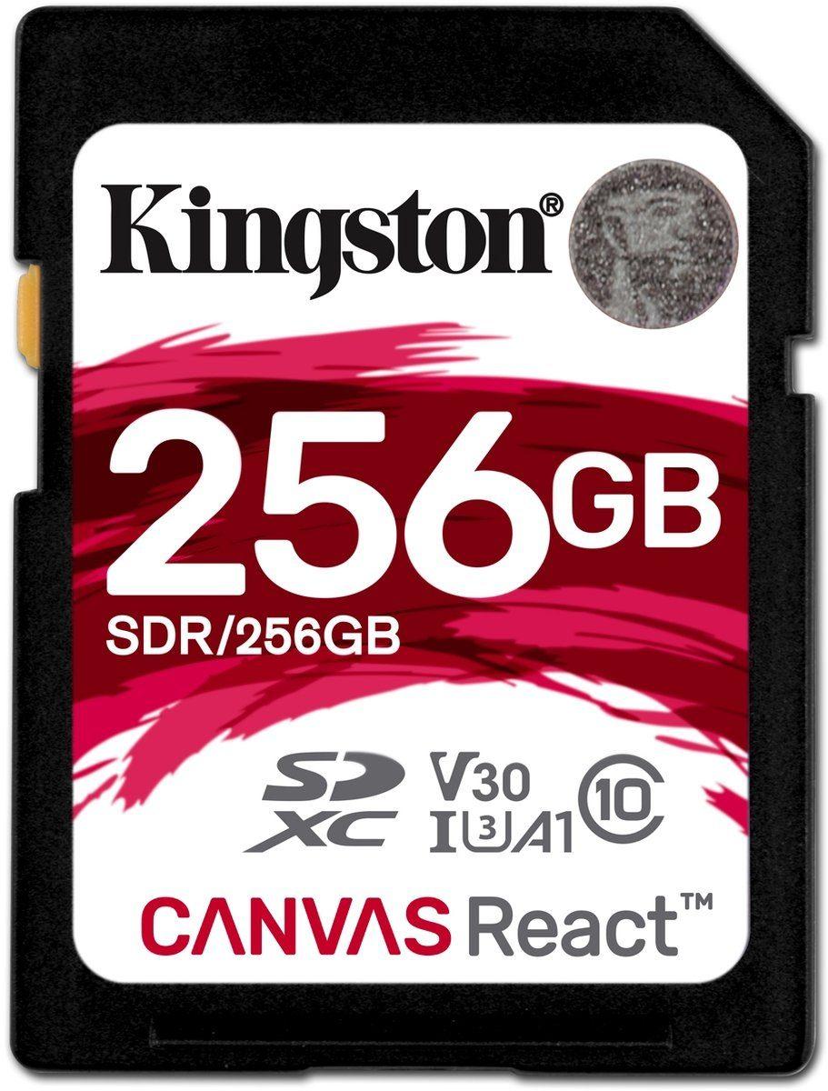 Kingston Speicherkarte »SD Canvas React 256 GB«