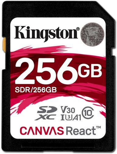 Kingston Speicherkarte »SD Canvas React 256 GB«