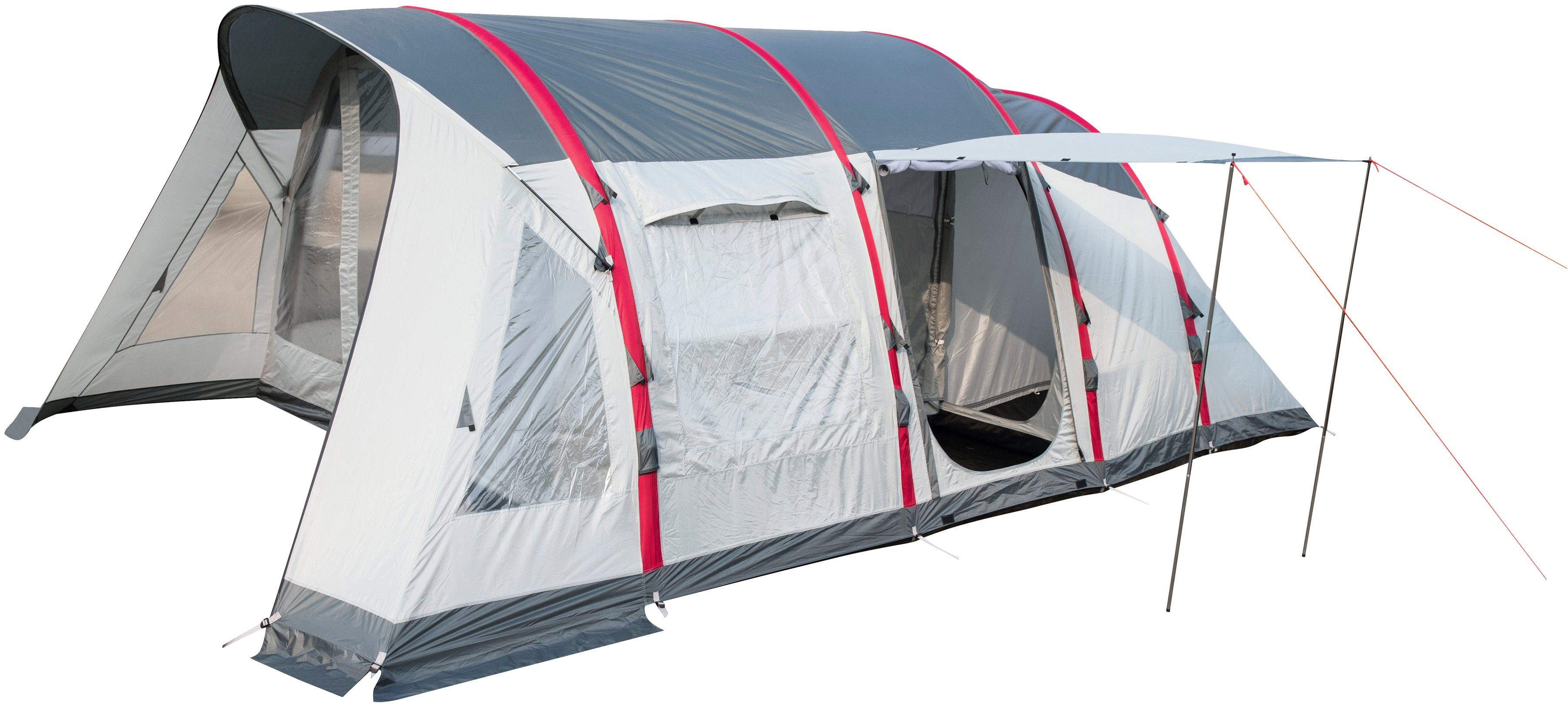 PAVILLO Mehr-Personen-Zelt »Sierra Ridge Air Pro X6«, Außenmaß BxLxH: 390x640x225 cm